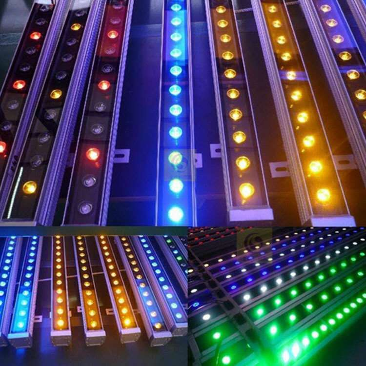 LED洗墙灯RGBW-DMX512